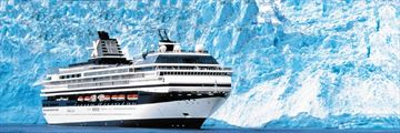 Celebrity Cruise Ship in Alaska