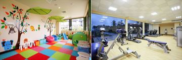 Centara Ceysands Resort & Spa, Camp Safari Kids' Club and Fitness Centre