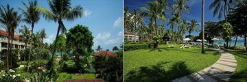 Centara Grand Beach Resort, Koh Samui, Resort and Gardens