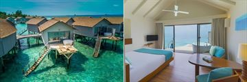 Centara Ras Fushi Resort & Spa, Deluxe Spa Over Water Villa