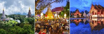 Temples & Markets in Chiang Mai