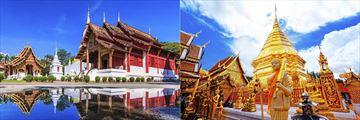 Wat Phrang Sing Temple & Wat Phra That Doi Suthep Temple, Chiang Mai