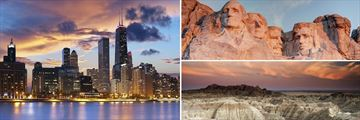 Chicago, Mount Rushmore & The Badlands National Park