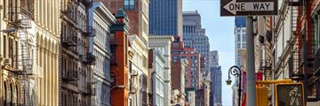 City in Soho, downtown New York