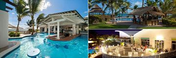 Coconut Bay Beach Resort & Spa, Swim-Up Pool Bar, Harmony Bar and Stargazers Lounge