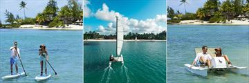 Paddle Boarding, Sailing and Pedal Boats at Constance Prince Maurice