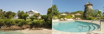 Cotton House, Mustique, Exterior, Beach, Cotton Mill Museum and Pool