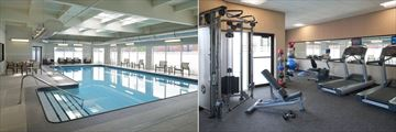 Pool and Fitness Centre at Courtyard by Marriott Toronto Airport