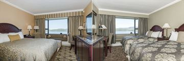 Crest Hotel Prince Rupert, Crest Class Harbour View Room and Superior Water View Room