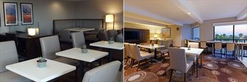 Club Floor Lounge and Executive Lounge at Crowne Plaza Redondo Beach & Marina
