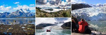 Darwin Mountains, Wulaia Bay & Pia Glacier