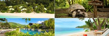 Denis Private Island & Kempinski Seychelles Resort landscapes