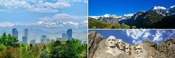 Denver, The Rocky Mountains & Mount Rushmore