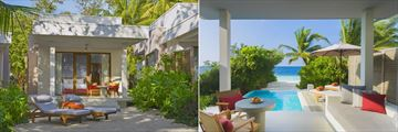 Beach Bungalow and Beach Villa with Pool at Dhigali