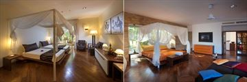 One Bedroom Villa and Two Bedroom Villa - Second Bedroom at Diamonds Star of the East