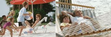 Family Fun on the Beach at Disney's Caribbean Beach Resort