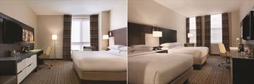 DoubleTree by Hilton Hotel Boston Downtown, Standard King and Standard Double Rooms