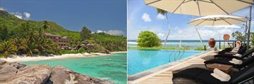 DoubleTree by Hilton Seychelles Allamanda Resort & Spa, Resort View, Sunbeds and Infinity Pool