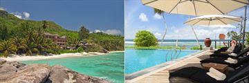 DoubleTree by Hilton Seychelles Allamanda Resort & Spa, Resort View, Sunbeds and Infinity Pool