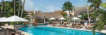 Dreams Puerto Aventuras Resort & Spa, Manatees Swim-Up Bar and Pool