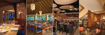 Bordeaux Bar, Oceana, Himitsu and Coco Cafe at Dreams Punta Cana Resort & Spa