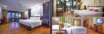 Emerald Cove Resort, Koh Chang, Deluxe Premium Wing, Grand Deluxe Ocean Facing and Deluxe Ocean Facing