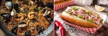 Delicious cuisine in Massachusetts