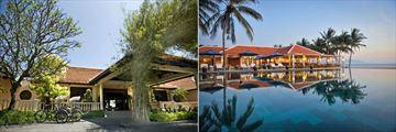 Evason Ana Mandara Nha Trang, Main Entrance and Ana Beach House Restaurant and Pool