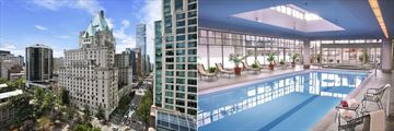 Fairmont Hotel Vancouver, Exterior and Pool
