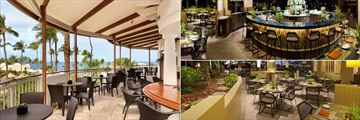 Ama Bar and Grill, Ko Bar and Ko Restaurant at Fairmont Kea Lani Maui