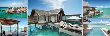 Fairmont Maldives, Water Villa