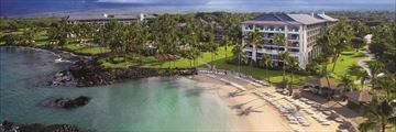 Aeriel View of the Fairmont Orchid