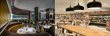 Fairmont The Queen Elizabeth, Roselys Restaurant and Marche Artisans