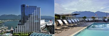 Fairmont Waterfront, Exterior and Pool