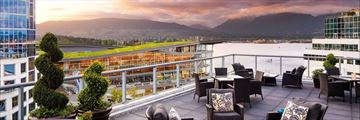 Fairmont Waterfront, Fairmont Gold One or Two Bedroom Terrace and Views