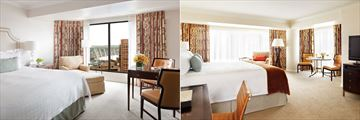 Four Seasons Hotel Vancouver, Deluxe Preferred Room and Premier Preferred Room