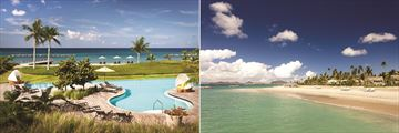 Four Season Resort Nevis, Pool and Beach