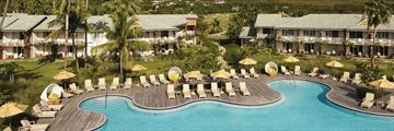 Four Seasons Resort Nevis, Aerial View of Resort and Pool
