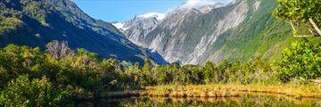 Delightful views of Franz Josef Glacier