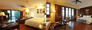 Furama Resort, Ocean Studio Suite and Ocean Deluxe