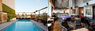 Gansevoort Meatpacking, Rooftop Pool and Lobby Bar