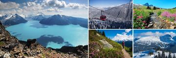 Stunning scenery in Whistler