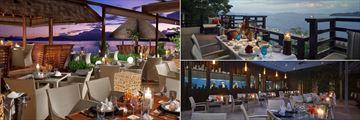 Dining at Gaya Island Resort