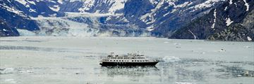 Cruising through Glacier Bay National Park, Alaska