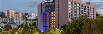 Grand Millennium Hotel, Exterior
