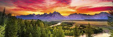 Grand Tetons, Snake River, Wyoming
