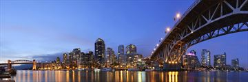 Granville Bridge in Downtown Vancouver, Alberta
