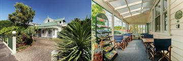 Great Ponsonby Bed & Breakfast, Front Exterior and Terrace