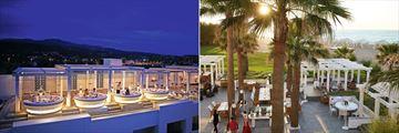 Zeus Amalthia Sky Bar and Barbarossa at Grecotel Creta Palace
