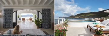 Harbour House and North Beach Cottage at Guana Island